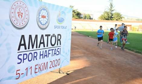 SporTokat'ta Amatör Spor Haftası Coşkusu