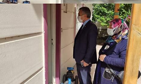 İl Müdürü Özdemir Ramazan Ziyaretlerine Devam Ediyor