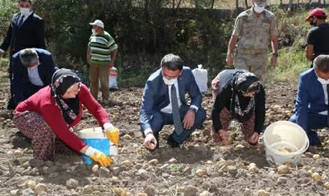 Vali Balcı, Başçiftlik'te yatırım çalışmalarını inceledi