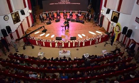 Tokat 1'inci Altın Asma Türk Halk Müziği Beste Yarışması düzenlendi
