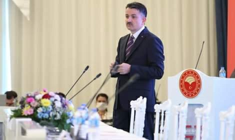 Bakan Bekir Pakdemirli, sektör temsilcileri ile biraraya geldi