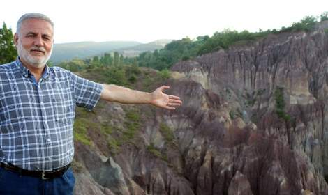 Tokat'taki 'Dilim kayalar' keşfedilmeyi bekliyor