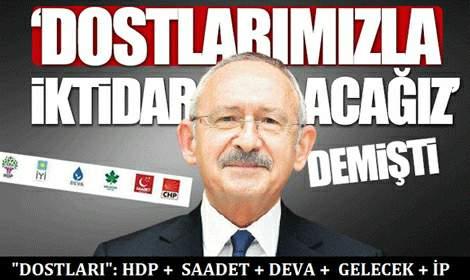 CHP 'Dostları' Arasında HDP'nin de Olduğunu Açıkladı!