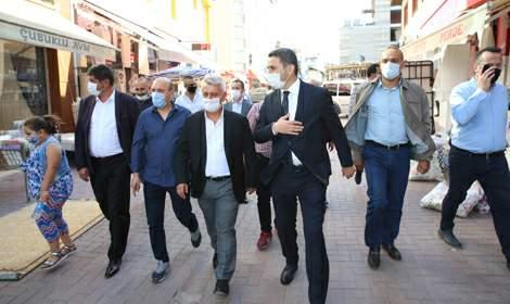 Başkan Eroğlu, 'Esnafımız ne kadar güçlü olursa, şehrimiz de güçlenir'
