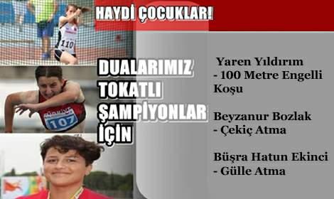 Tokatlı Atletler İstanbul'da Yarışıyor
