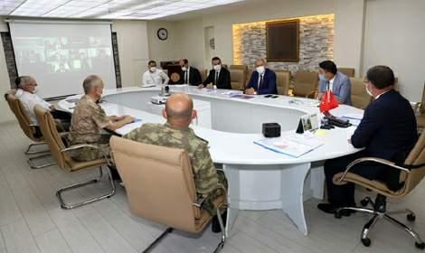 İl Güvenlik ve Asayiş Koordinasyon Kurulu toplantısı yapıldı