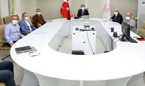 İl Hıfzıssıhha Kurulu Vali Başkanlığı'nda toplandı