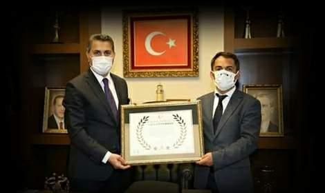Çevre Dostu Eroğlu'na 'Kahramanlık Beratı'