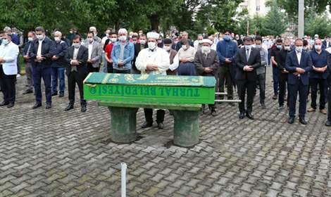 Vali Ozan Balcı, Mustafa Aydın'ın cenaze namazına katıldı