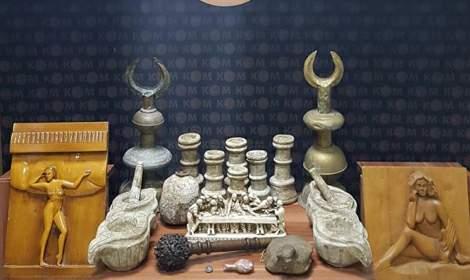 Tokat'ta tarihi eser operasyonu