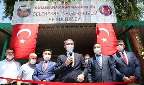 Balcı, Geleneksel Yaşam Müzesi ve Kültür Evi'nin açılışına katıldı