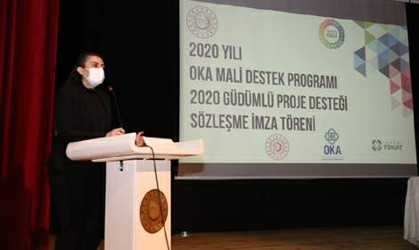 OKA Tokat'taki Projelere 16 Milyon Lira Destek Verdi