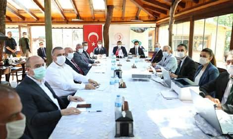 OKA Yönetim Kurulu toplantısı Tokat'ta yapıldı