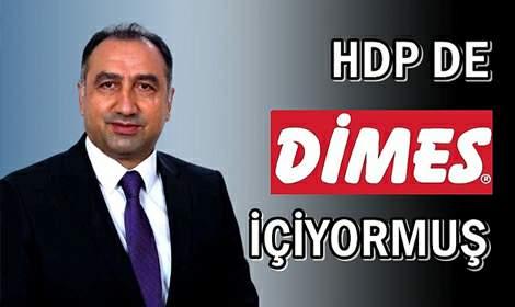 HDP'den DİMES'e Destek...