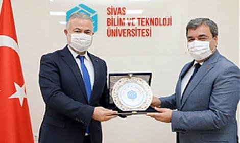 GOÜ Rektörü Şahin'den 'Hayırlı Olsun' Ziyaretleri