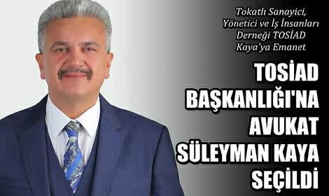 TOSİAD'a Süleyman Kaya Damgası