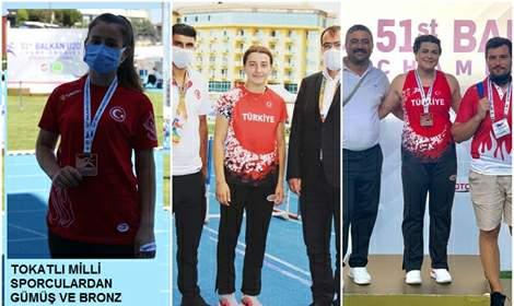 Tokatlı Milli Sporculardan Büyük Başarı