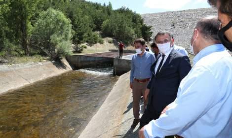Çamlıbel Ovası sulama sezonu başladı