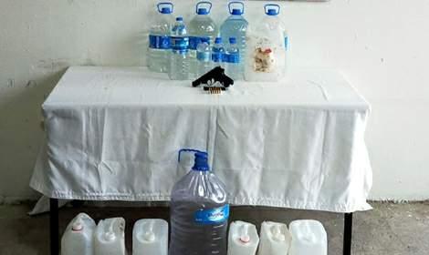 Tokat'ta sahte içki operasyonu