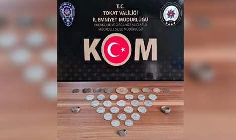 Tokat'ta Tarihi Eser Kaçakçılarına Operasyon