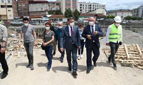 Vali Ozan Balcı, 'Niksar'da yatırımlarımız devam ediyor'