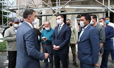 Vali Ozan Balcı, Pazar'da incelemelerde bulundu