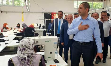Almus Çevreli'de Ayakkabı Fabrikası Açıldı